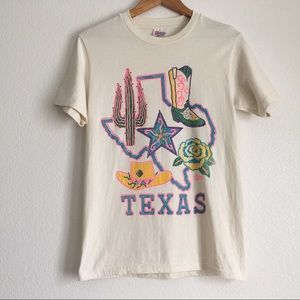 Vintage Texas Hanes Heavyweight Small T-shirt